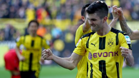 Dortmund's Pulisic going nowhere
