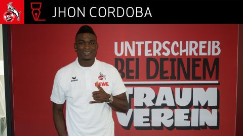 Jhon Cordoba leaves Mainz for Cologne