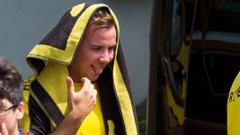 Götze and Dortmund back in training