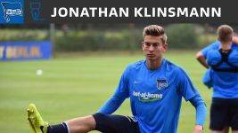 Hertha Berlin sign Jonathan Klinsmann