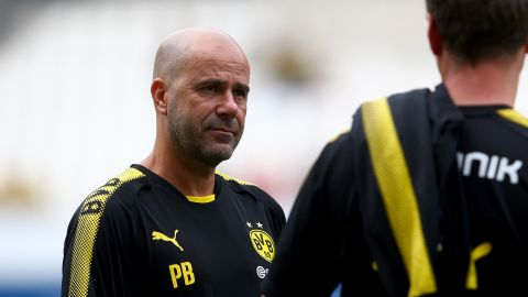 BVB-Coach Peter Bosz im Interview
