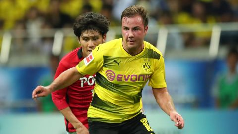 Götze makes Dortmund comeback in friendly win