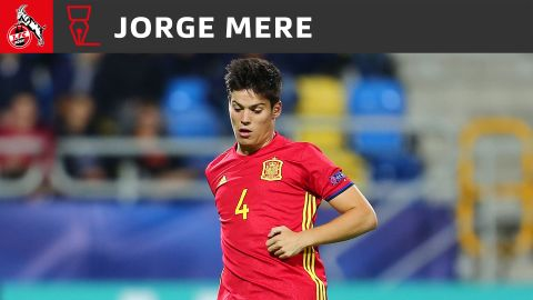 Cologne have signed Spain U21 star Jorge Meré