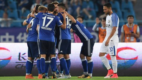 Watch: Highlights of Schalke's draw with Inter