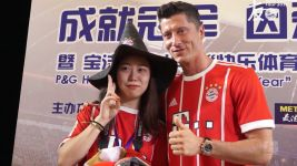 Watch: Fan + Lewy = pure emotion