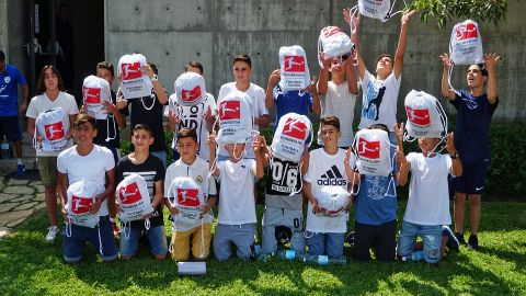 Bundesliga Football School begins in Israel