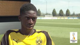 Watch: Dembele on importance of Supercup