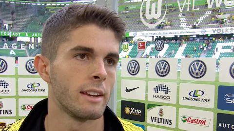"Watch: Pulisic ""Wanted to show what we're about"""