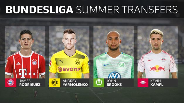 The Complete List Of Bundesliga Summer Transfers Bundesliga Com