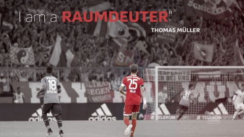 Watch: Müller the best without the ball
