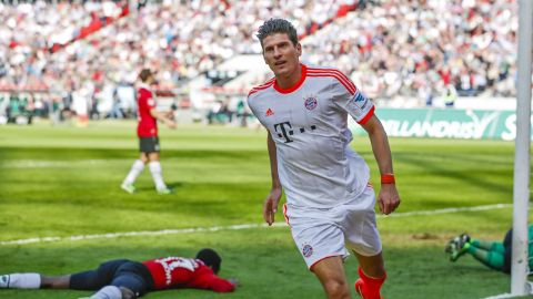 Watch: Mario Gomez's goals against Hannover