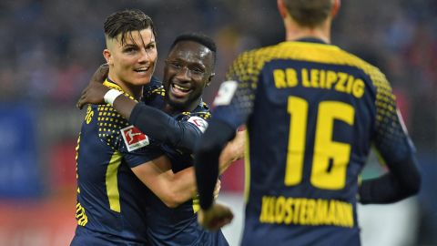 Leipzig end Hamburg's unbeaten start