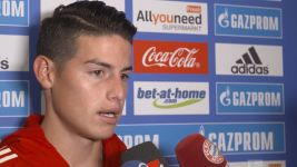 "Watch: James Rodriguez ""The goal helped me relax"""