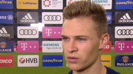 "Watch: Kimmich: ""We wasted chances"""