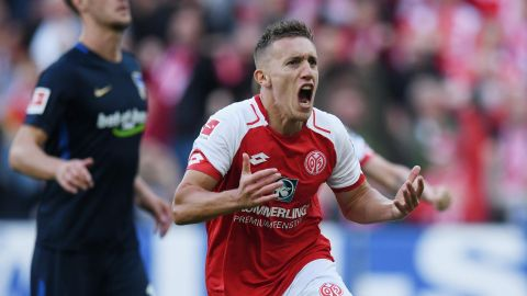 De Blasis spot on for Mainz