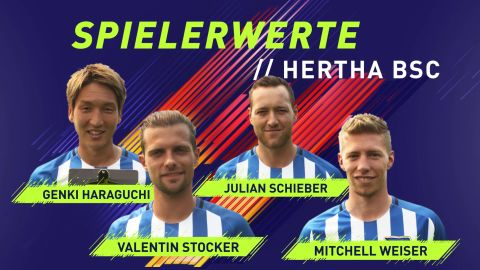 FIFA 18: Rating Reveal Hertha BSC