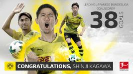 Kagawa breaks Japanese goalscoring record