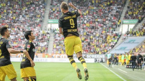 Augsburg 1-2 Borussia Dortmund - As it happened!