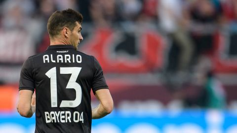 Alario set for Rhine derby debut