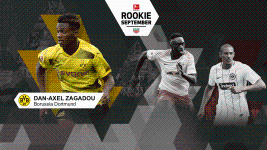 Zagadou named Rookie of the month