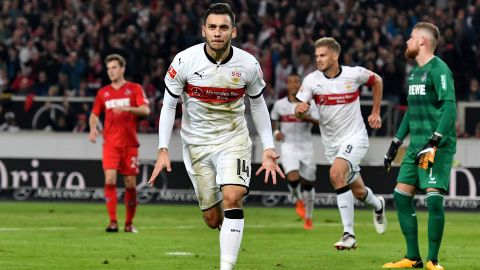 Stuttgart snatch last-gasp win over Cologne
