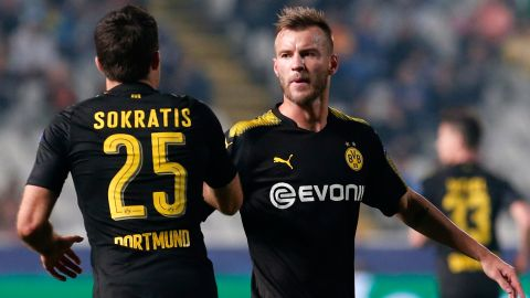 Dortmund left frustrated in Cyprus