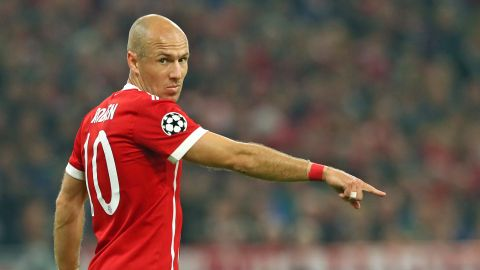 "Robben: ""100 Champions League games is special"""