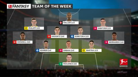 Team of the week: Matchday 9
