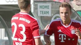 Götze nearly good to go