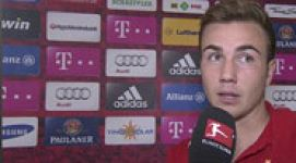 Götze's head start