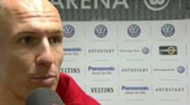 Robben: 'Hard work'