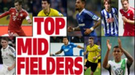 Team of the Season: Midfielders