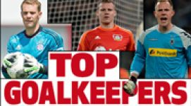 Team of the Season: Goalkeepers