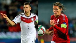 Vestergaard and Volland in U-21 team of the tournament