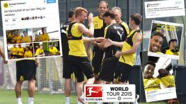 Dortmund making a splash in Japan