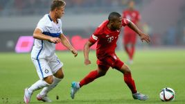 Bundesliga World Tour 2015: Bayern narrowly beat Inter