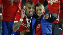 Arturo Vidal's hairstyles through the years