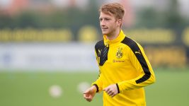 Reus back in training