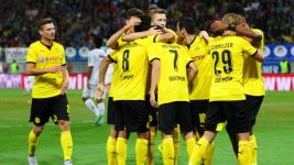 Dortmund on track for Europa League play-offs after Wolfsberg win