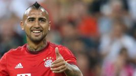Vidal: 'Happy because I'm playing'