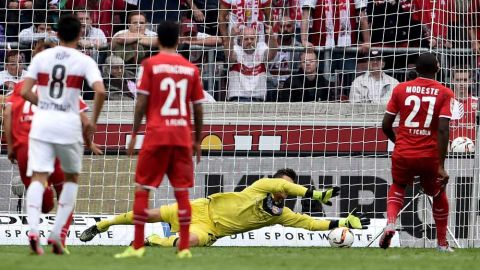 Anthony Modeste's goalscoring debuts