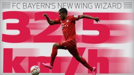 Infographic: FC Bayern's new wing wizard