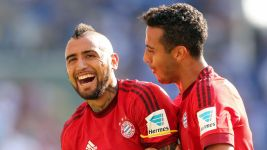 Family man Vidal loving life in Munich