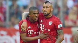 Record title beckons for Bayern with Costa and Vidal