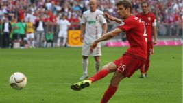 Müller 'I had butterflies in my stomach'