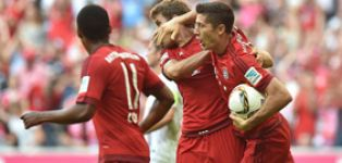 Bayern take southern derby spoils