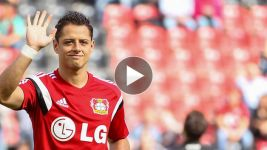 'Chicharito' making a splash