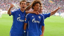 Schalke's youthful trio