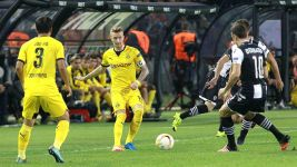 Much-changed Dortmund held by PAOK