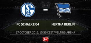 Schalke look to bounce back against high flying Hertha